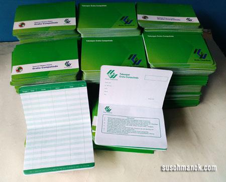 Desain Buku Tabungan Koperasi Rajasthan Board A